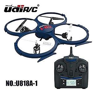 UDI A-U818A-1 - RC Drohne Discovery mit HD-Kamera, 2.4 GHz