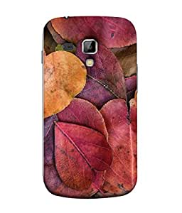 PrintVisa Designer Back Case Cover for Samsung Galaxy S Duos 2 S7582 :: Samsung Galaxy Trend Plus S7580 (Season Leafs Forest Colorful Plant Background)