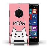 Stuff4 Phone Case for Nokia Lumia 830 Cute Cartoon Cat