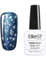 Elite99 Vernis A Ongles Semi Permanent Etoiles Magnifique Serie Gel Polish UV LED Nail Art Manucure 10ml 6622