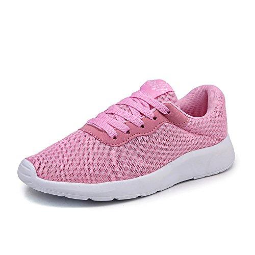 Easondea Unisex Trainer Straße Laufschuhe Casual Sportschuhe Mesh Sneaker Wanderschuhe für Männer Frauen Athletic Fitness Gym