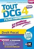 Tout le DCG 4 - Droit fiscal - Entrainement et révision - 2ème édition