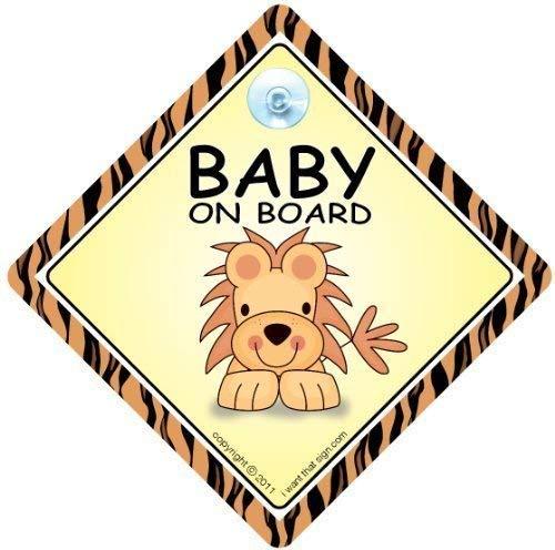 Personnalisé Bébé à Bord Voiture Signe ~ Granny /& grand-père de princesse rose neuf!!