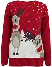 Fast Fashion - Cavalier Rudolph Et Suricate Joyeux Christmas Imprimé - Femme