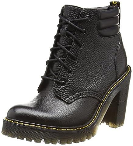 Dr. Martens Damen Persephone Chukka Boots, Schwarz (Black Aunt Sally), 39 EU