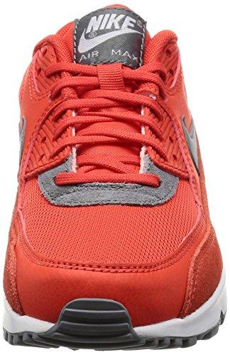 Nike Wmns Air Max 90 Prem, Entraînement de course femme Orange (Max Orange/cool Grey/white/mtlc Silver)