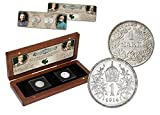 IMPACTO COLECCIONABLES Collezione Monete ANTICHITA'- 2 Monete in Argento della Prima Guerra Mondiale