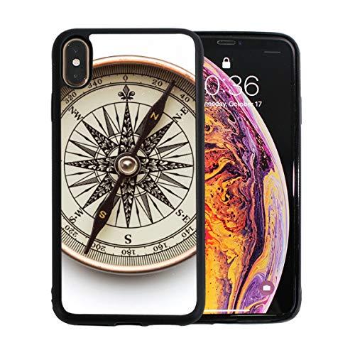 WOCNEMP Old Retro Guide ist positiv Apple Phone Xs Max Fall Displayschutzfolie TPU Hard Cover mit dünnem stoßfestem Stoßfänger Schutzhülle für Apple Apple Phone Xs Max 6,5 Zoll