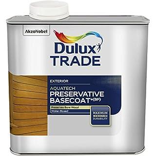 Dulux Trade 2.5 Litre Weathershield Aquatech Preservative Basecoat Plus