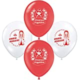 Kina gecesi Henna Abend Kina süs Kina dekorasyon Bayrak Luftballons Fahnenkette Wimpelkette dügün dekorasyon