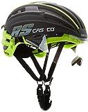 Casco Erwachsene Helm Speedairo RS, Schwarz/Neon, M, 16.04.1507