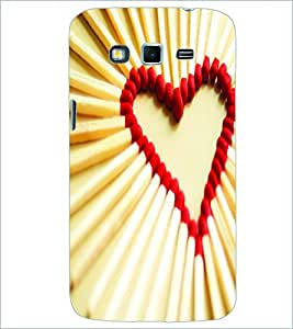 PRINTSWAG HEART Designer Back Cover Case for SAMSUNG GALAXY GRAND 2