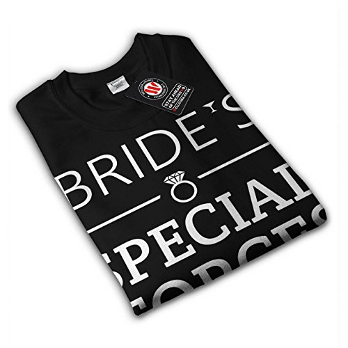 femme À Être bachelorette Fête Femme NOUVEAU Noir S-2XL Sweat-Shirt   Wellcoda Noir