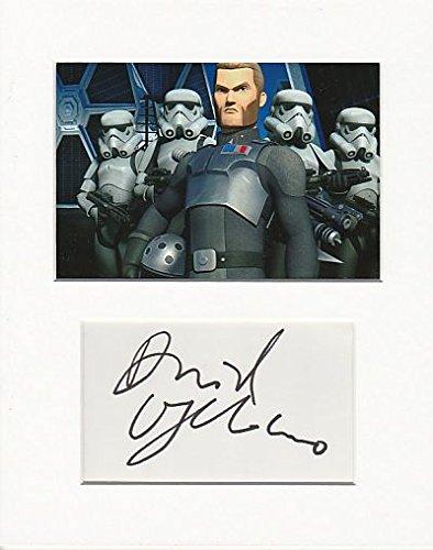 Star Wars Rebels-David oyelowo Original Authentic Autogramm AFTAL COA