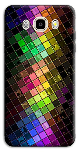 Mixroom–Coloured Soft Cover Mobile Case in TPU Silicone for Samsung Galaxy J5J500(2015) M612Mosaic Edition