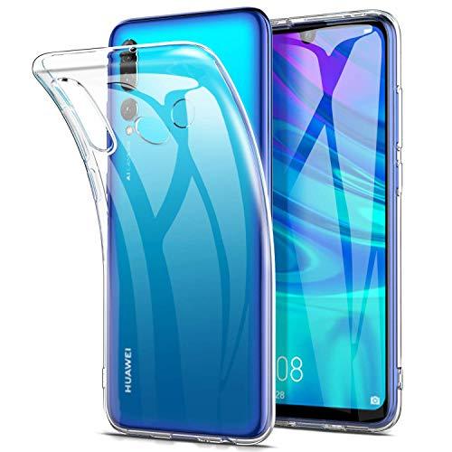 AINOYA Coque Huawei Honor 20 Lite, Etui Transparent Silicone TPU Souple, Bumper Housse de Protection pour Huawei Honor 20 Lite.