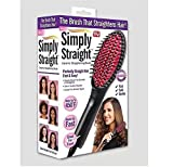 AMIDE BY AD .COM; THINK BIG Simply Straight Ceramic Hair Straightener, Curler and Styler Brush