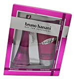 Bruno Banani Made For Women Gift Set EDT Spray 60.0 ml plus Body Lotion 150 ml, 1er Pack (1 x 2 Stück)