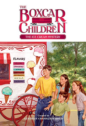 The Ice Cream Mystery (The Boxcar Children Mysteries Book 94) (English Edition)