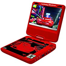 Lexibook - DVDP6DC- Disney Cars Portable DVD Player