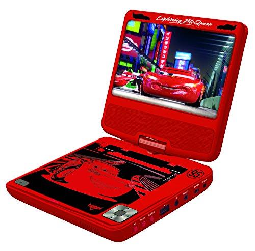 Preisvergleich Produktbild Lexibook - DVDP6DC- Disney Cars tragbarer DVD-Player