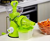 MSE juicer machine manual baby food slow juicer extractor hand fruit vegetable tomato carrot apple lime orange citrus lemon juicer (pack of 1)