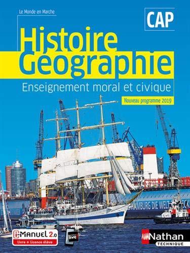 Histoire et Géographie EMC - CAP - 2019