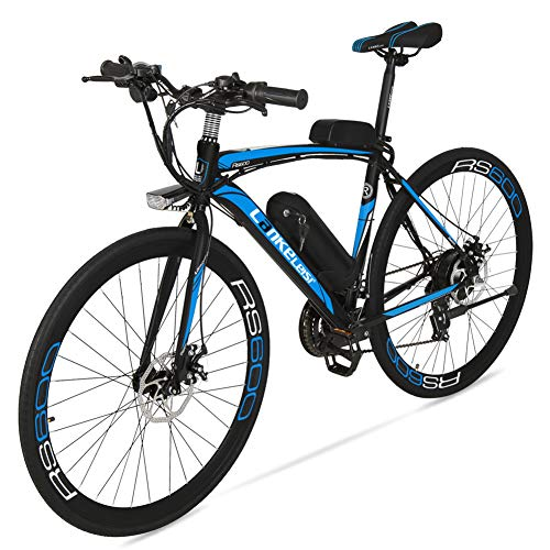 51T30EHwFkL. SS500  - Cyrusher RS600 Mans 50cm x 700c Road Bike 21 Speeds Electric Bike 240W 36V 15AH Removable Lithium Battery Mountain Bike City Bike Power Assist with Carbon Steel Frame & Dual Disc Brakes
