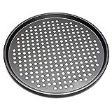 Plaque à pizza en acier carbone antiadhésive pour la cuisine