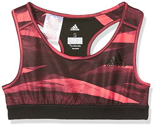 adidas Damen Training Sport-BH, Easy Coral/Black, 164