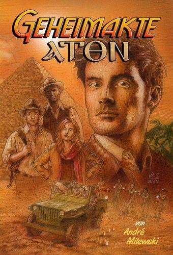 Buchseite und Rezensionen zu 'Geheimakte Aton: Thriller' von André Milewski