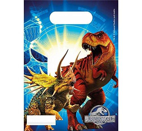 Prezer Jurassic World Dinosaurier 6 Geschenktüten