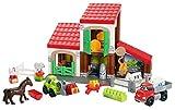 Ecoiffier 3044 - Jeu De Construction - La Ferme - Abrick