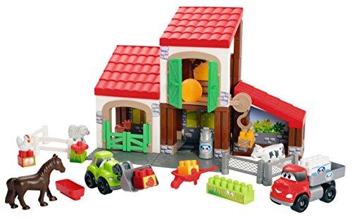 Abrick - Juego de construcción granja (Smoby 3044)