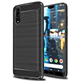 Ferlinso Coque Huawei P20, Flexible Rugged Armor Hybrid Defender Housse de Protection...