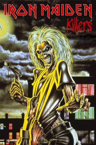 Posters: Iron Maiden Poster - Killers (36 x 24 inches)