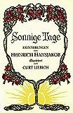 Sonnige Tage: Erinnerungen - Heinrich Hansjakob
