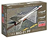 #7: Minicraft MiG-21 USSR with 2 Marking Options Model Kit 1 144 Scale