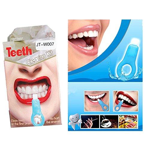 Clean Brosse à Dents,OverDose Teeth Cleaning Kit Professional Gel Strips Teeth - Garantie Satisfait Ou Remboursé à 100 % Sans Aucune Question PoséE |