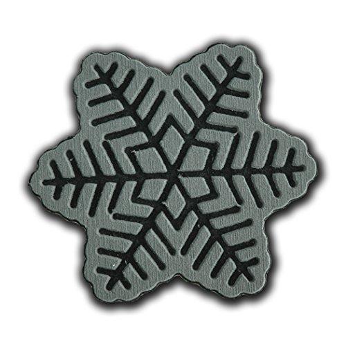 toejamr Stomp Pad–Snow Flake–Grau (Schnee Stomp Pad)