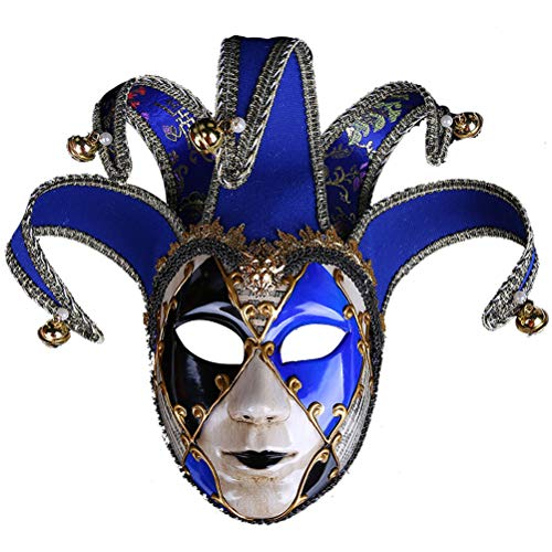 Robo Venezianische Maske Joker Karneval Gesichtsmaske Vintage Maskerade Party Kostüm Halloween Fasching