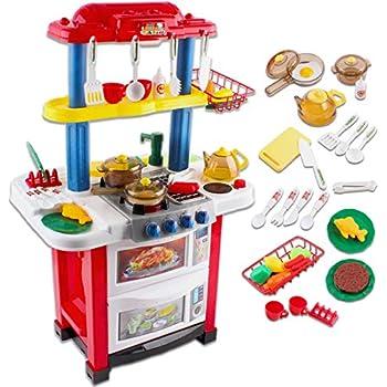 Little Deao Con Cucina Giocattolo Happy SuoniLuci Chef F3uJl1cKT