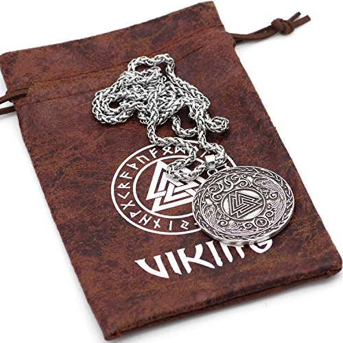 Viking Valknut - Collar con...