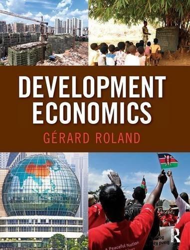 Development Economics (The Pearson Series in Economics) by G?rard Roland (2013-07-24)