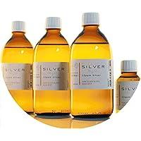 Preisvergleich für PureSilverH2O 1600ml kolloidales Silber (3x 500ml/15ppm) + Flasche (100ml/50ppm) Reinheit & Qualität seit 2012