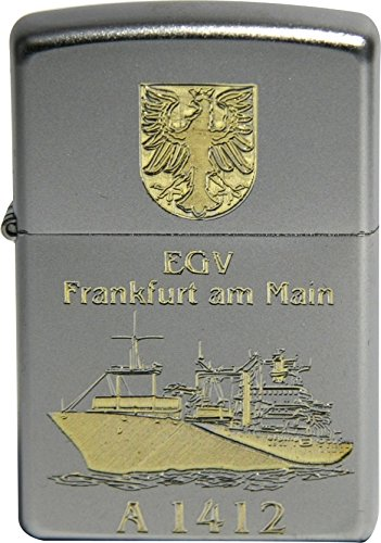 Zippo Sturmfeuerzeug Einsatzgruppenversorger (EGV) Frankfurt am Main