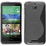 PhoneNatic Coque en Silicone pour HTC Desire 510 - S-Style transparent - Cover Cubierta + films de protection