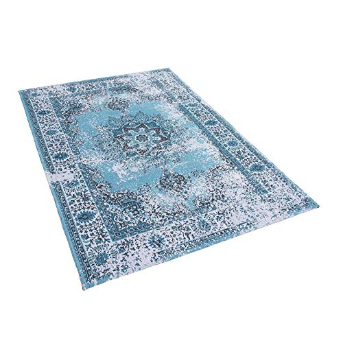 Tapis Bleu 140 x 200 cm Almus