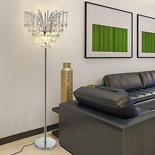 GX Standleuchte Luxus K9 Kristall Stehlampe Wohnzimmer einfache moderne Licht Schlafzimmer kreative Postmodern Stehlampe -