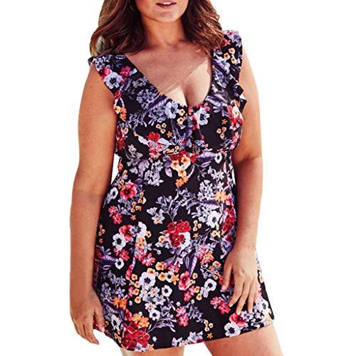 491fec55b9ca SMENGG Bikini con Stampa a Foglia di Leopardo delle Donne Bikini  Abbigliamento Femminile Costume da Bagno